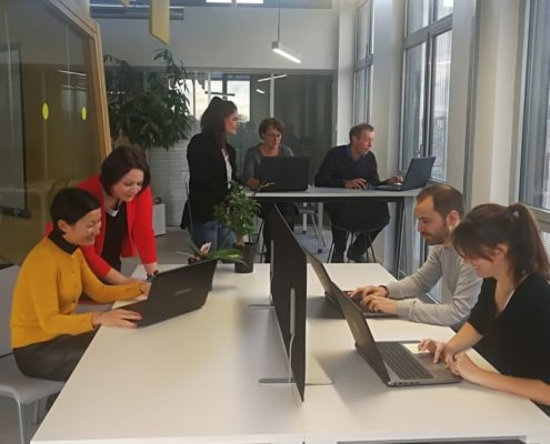 coworking open space travail collaboratif EEBr